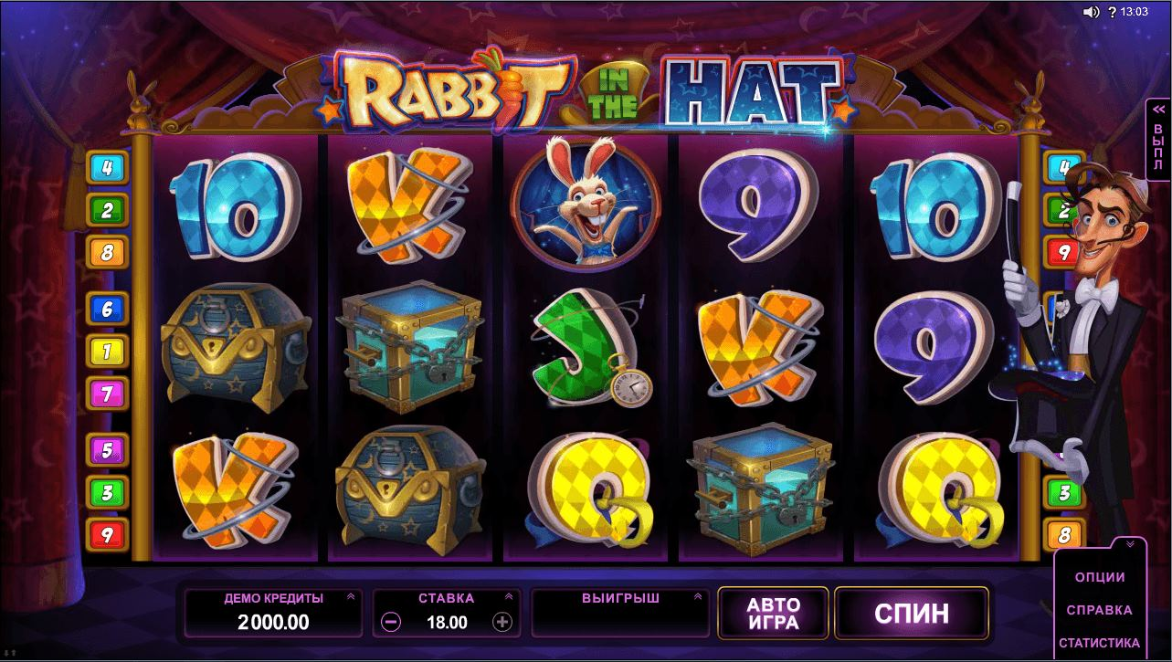 Игра Rabbit in the Hat